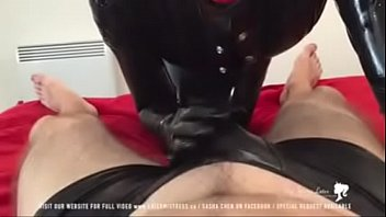fucking shemale latex female Twink first audition