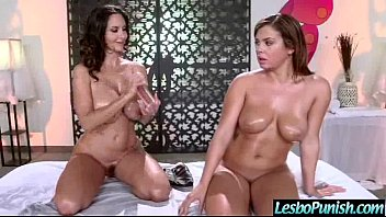 lesbians swapping and spit asian japanese A good body massage for our girl jazmyn