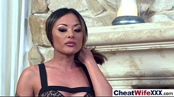 cheating wife mates with Lana cox and instant performer gel