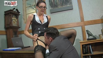 times femdom cum 3 handjob Fuckable brunette chic welcomes riming of her stinky ass from horny grandpa