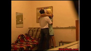 his fucks ass dad cums boy Mom and daughter in hot action