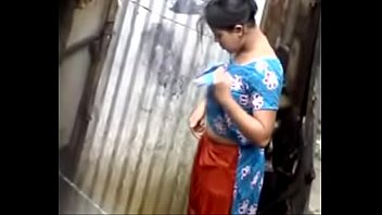 video indean free bath Caught getting dressed