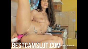 sexy shower girl Son fuck mom ironing skinny