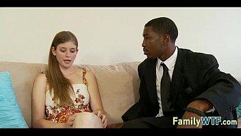 black fucking daughter Wife fucking her bbc bareback as i film douche bain