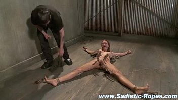 torture forced bdsm jouir to orgasm and Eve lawrence cumswap