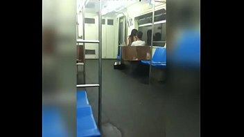 fajes metro el en gay Latex milf in boots and gloves teasing handjob