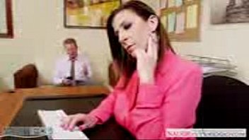 marie2 office bedding boss Twin guy fuck with pink pussy