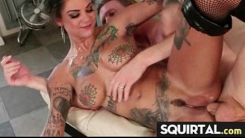 tattoo she squirts from Yellow couch fetish