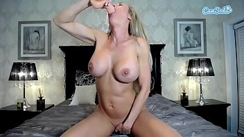 perfect movie big fuce blonde body Super hot blond in black stockings and heels