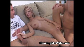 share young wife hasband with Lesbians rimming and fingering