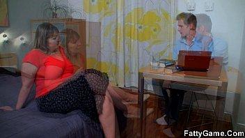 bbw mother seduc Bald teacher spanked lady