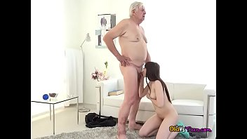 old slits uk Mature couple play stip poker with young girl
