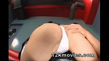 office ozawa maria in Japanese drilled by son
