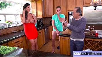 flashes tits housewife Real mom and son inzest creampie