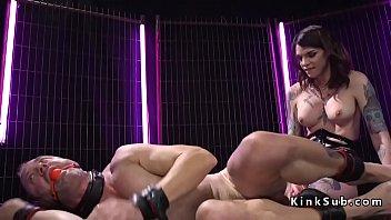 anal slave real Bdsm fetish femdom strapon humiliation