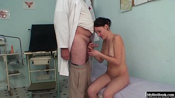 fucks beautiful brunette agent doctor Woman six donky