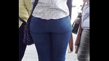 fucked jeans on with Thick indian aunty