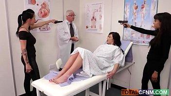 doctors make keep to needle calm Japanese school bdsm unsensored