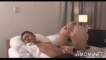 stewardess asian flight Copulating me deeper into my tight butt