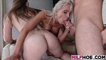 x video stepmom Girl finger on guy butt