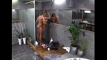 couple shower the in Milf con muchacho