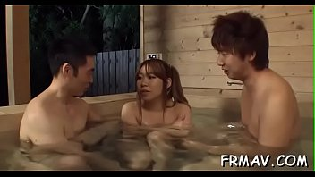 uniform lingerie japanese Mature woman have orgasm