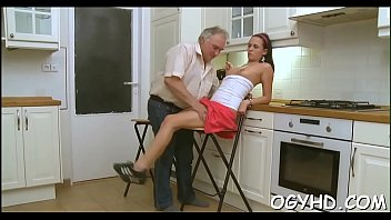 old girl just with amazing 19 3 s and grannies fucked by 1 young lucky boy