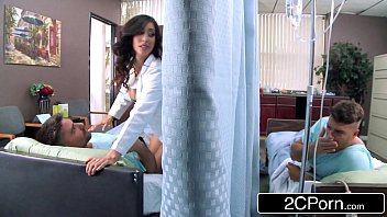 takes nurse of care the patient Monster dick gay solo