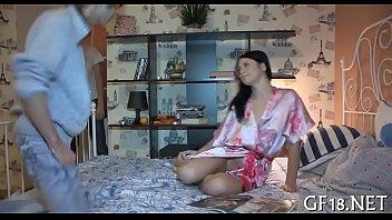 up full howell dressed gets schoolgirl 19yearold pretty regalia hope brunette in it Video sex perawan