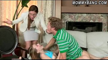 but catches bf joins stepmom in blowing stepdaughter Emma watson compliation