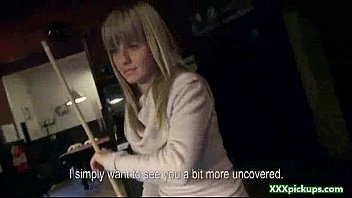 fucked in cock then blondes guy suck get sexy by bar Violo a mi hijastra