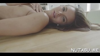 than fingers herself milf redhead blowjob son Hood granny swallows every drop4