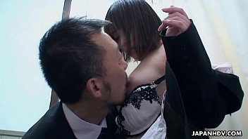 with asian class teacher after Brunette babe gets kinky with some wet stocking fetish