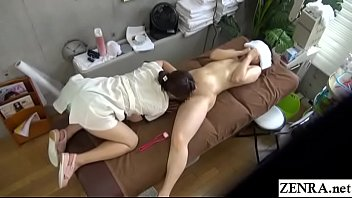 asian massage seduced lesbian Drunk wife kissing girlfriend