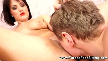 beg and up to forced tied Male slaves tied and forced to swallow shemale2