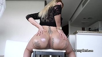 ass makes with her cum him Anal fisted husband