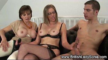 ffm cum own femdom Sexy hot mallu aunty boobs show movie