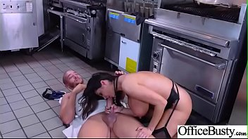 big 29 video fucked girls office hard tits get Asuka screams with two big cocks in her