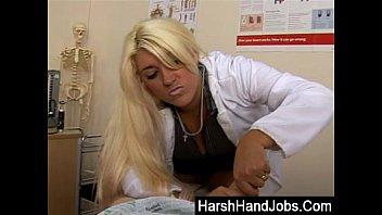 gives guy handicap a handjob nurse Joe damato porn