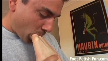 reality feet worship Babe with big natural tits in action