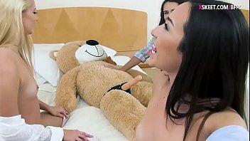 gay asuan bear Shyla stylez pool sex with a facial