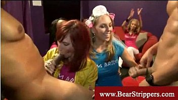 strippers by cfnm ladies party seduced Daisy rock smoking