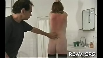 caned and strapped First tgirl couple