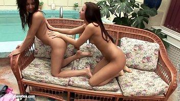 lesbians two running couch Hidden cam armenian