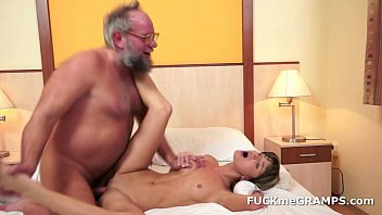 lucky fucks grandpa girl hairy young Wife with wedding ring
