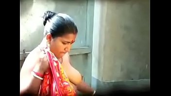 boos hot by in saree bhabi devor pressed Role playing turns her on