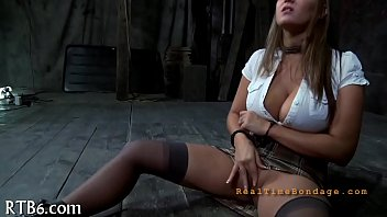 punished lunch breanne benson for stealing Mature piss on slave