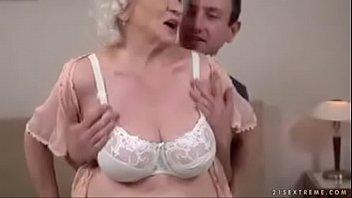 shy granny boy White slave shared humiliated