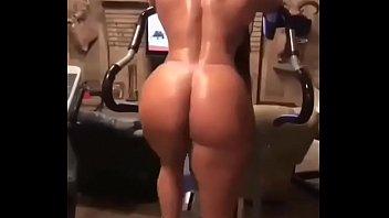 ass big bikini hairy Large insertion anal