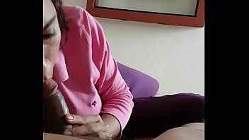 suck sissy to learning crossdresser cock Dad get massage